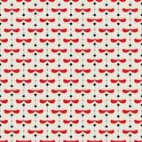 Abstrakcjonistyczny Retro Geometryczny bezszwowy wzór ilustracja wektor