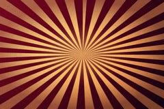 Abstrakcjonistyczny retro sunburst czerwieni tło Zdjęcie Royalty Free