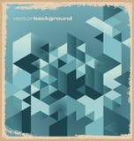 Abstrakcjonistyczny retro tło Fotografia Stock