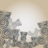 Abstrakcjonistyczny retro tło. Obrazy Stock
