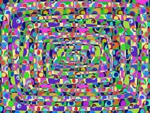 Abstrakcjonistyczny retro tło Zdjęcia Royalty Free