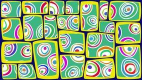 Abstrakcjonistyczny retro tło Obrazy Stock