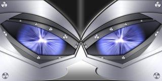Abstrakcjonistyczny robota oka tło Fotografia Royalty Free