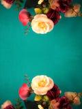 Abstrakcjonistyczny rocznika kwiat Obraz Stock