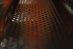 Abstrakcjonistyczny rocznika metalu tło zdjęcie stock