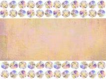 Abstrakcjonistyczny rocznika tło w pomarańcze, piaskowaty brąz barwi Obraz Stock