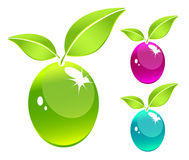 abstrakcjonistyczny środowiskowy symbol Ilustracja Wektor