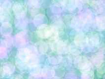 Abstrakcjonistyczny romantyczny kolorowy bokeh dla tła zdjęcia royalty free