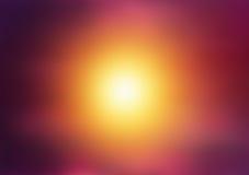 Abstrakcjonistyczny rozmyty słońca tło Kolorowy oszałamiająco władza Zdjęcie Royalty Free
