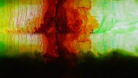 Abstrakcjonistyczny ruch kolorowe substancje, wizerunki dla psychotherapy analizy zbiory