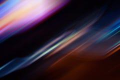 Abstrakcjonistyczny ruchu plamy t?o Fantastyka naukowa jarzy si? linie zdjęcie royalty free