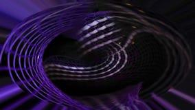 Abstrakcjonistyczny ruchu sztandar na ciemnym tle Fotografia Royalty Free