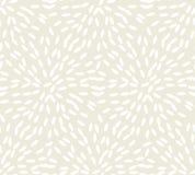 Abstrakcjonistyczny ryżowy bezszwowy wzór Zdjęcia Royalty Free
