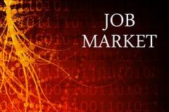 abstrakcjonistyczny rynek pracy Obrazy Stock