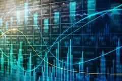 Abstrakcjonistyczny rynek walutowy mapy tło ilustracji