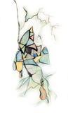 abstrakcjonistyczny rysunek Obraz Royalty Free