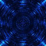 Abstrakcjonistyczny Sci Fi tło Zdjęcia Stock
