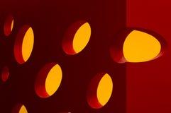 abstrakcjonistyczny ser Fotografia Stock