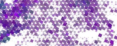 Abstrakcjonistyczny serca tło z geometrycznym motywem Zdjęcie Royalty Free
