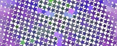 Abstrakcjonistyczny serca tło z geometrycznym motywem Obrazy Royalty Free