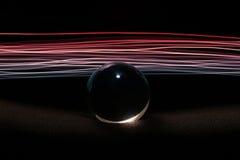 Abstrakcjonistyczny sfery światło III Obraz Royalty Free