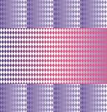 Abstrakcjonistyczny siatka wzór w gradientowy pozafioletowym - koloru trend 2018 również zwrócić corel ilustracji wektora ilustracja wektor