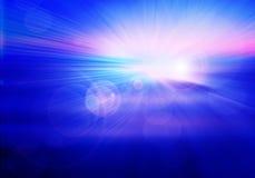 Abstrakcjonistyczny skład, barwi futurystycznego backgroun Zdjęcie Royalty Free