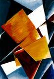 Abstrakcjonistyczny skład kolorów samoloty obrazy royalty free