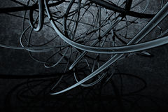 abstrakcjonistyczny skład Fotografia Royalty Free