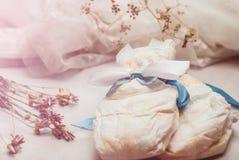 Abstrakcjonistyczny skład dla nowonarodzonego niemowlaka Obraz Royalty Free