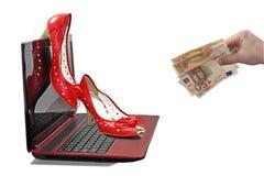 Abstrakcjonistyczny skład online erotyk Zdjęcie Stock