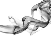 Abstrakcjonistyczny skład z dymem Zdjęcie Royalty Free