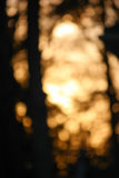 Abstrakcjonistyczny spadku światło Zdjęcia Stock