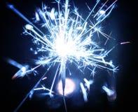 Abstrakcjonistyczny sparkler bokeh tło Zdjęcia Royalty Free