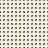 Abstrakcjonistyczny spirali polki kropek bezszwowy deseniowy tapetowy tło z zwierzęcym druku tłem ilustracji