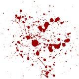 Abstrakcjonistyczny splatter czerwonego koloru tło ilustracyjny desi Fotografia Stock