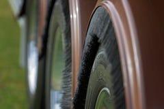 Abstrakcjonistyczny spojrzenie koła ciężarówka zdjęcie royalty free