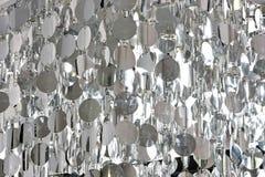 abstrakcjonistyczny srebro Obraz Royalty Free