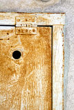 abstrakcjonistyczny stalowy padock zamka błyskawicznego Varese Italy sumirago Fotografia Stock