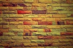 Stary grunge ściana z cegieł tło Fotografia Stock