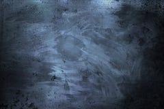 Abstrakcjonistyczny stary Brudzi Porysowaną Ciemną metal teksturę Zdjęcia Stock