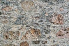 Abstrakcjonistyczny stary kamiennej ściany tło Obrazy Royalty Free