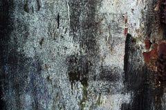 Abstrakcjonistyczny stary ośniedziały barwiony metalu tło Fotografia Royalty Free