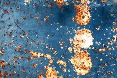 Abstrakcjonistyczny stary ośniedziały metal Zdjęcie Stock