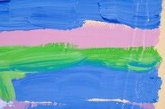 abstrakcjonistyczny staw Fotografia Stock