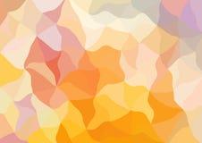 Abstrakcjonistyczny stubarwny poligonalny tło Zdjęcia Stock