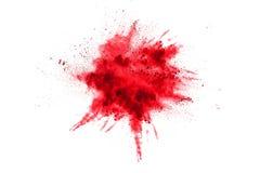 Abstrakcjonistyczny stubarwny proszek splatted zdjęcie royalty free