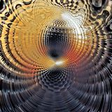Abstrakcjonistyczny stubarwny tło, vortex tekstura, cyfrowa ilustracja obraz stock