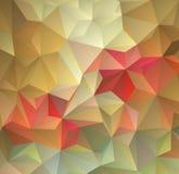 Abstrakcjonistyczny stubarwny wielobok, niski wieloboka tło Przetaczanie kolor wszystko farbuje tęczę geometryczny royalty ilustracja