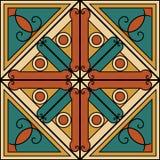 Abstrakcjonistyczny symbol royalty ilustracja